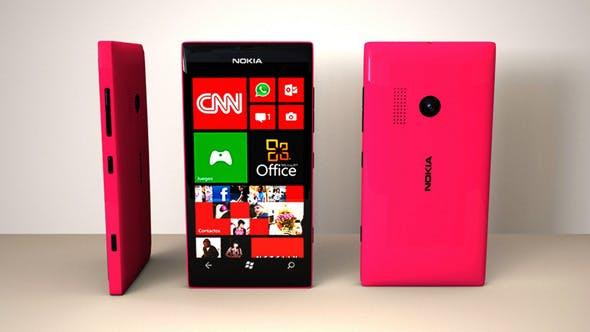 Nokia Lumia 505 - 3DOcean Item for Sale