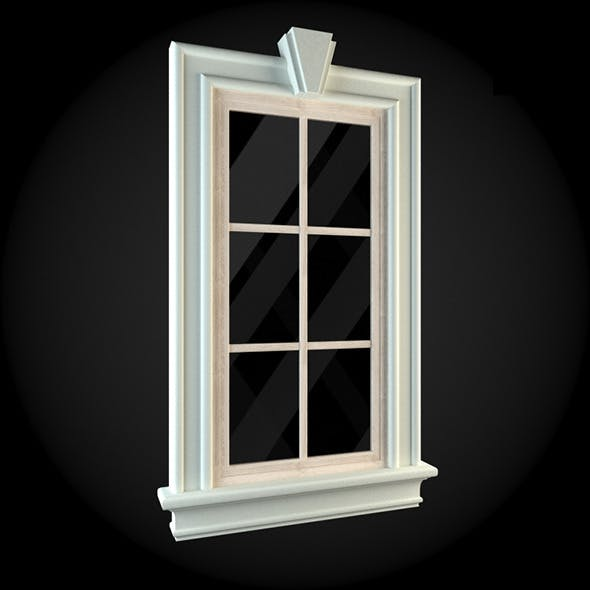 Window 004 - 3DOcean Item for Sale