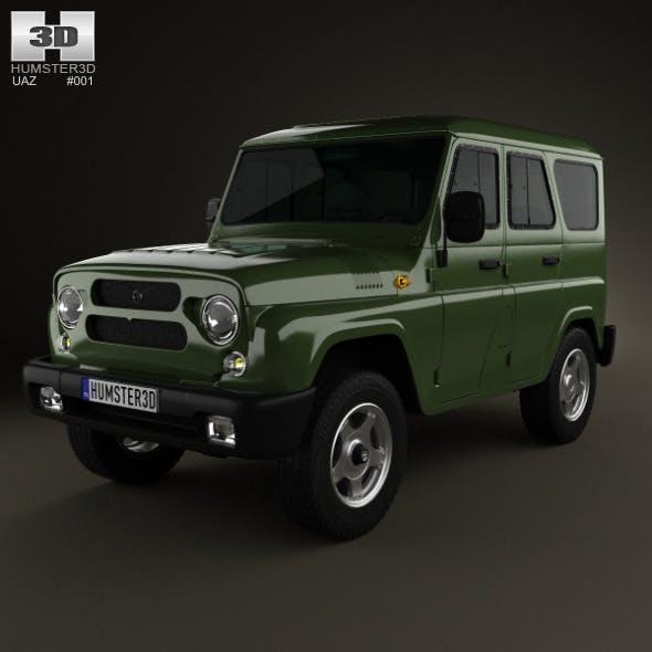 UAZ Hunter (315195) 2012 - 3DOcean Item for Sale