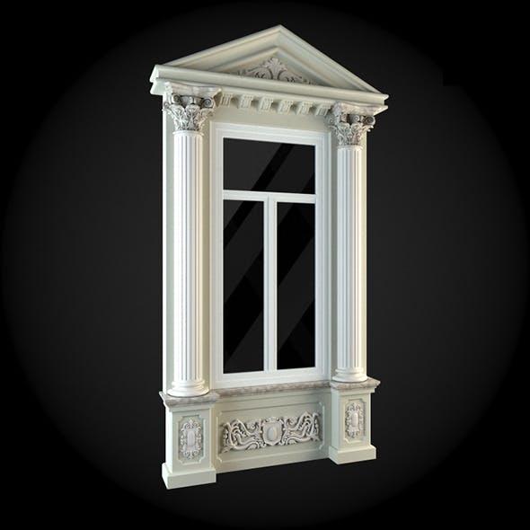 Window 019 - 3DOcean Item for Sale