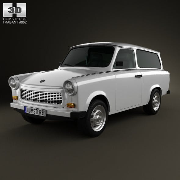 Trabant 601 Kombi 1965 - 3DOcean Item for Sale