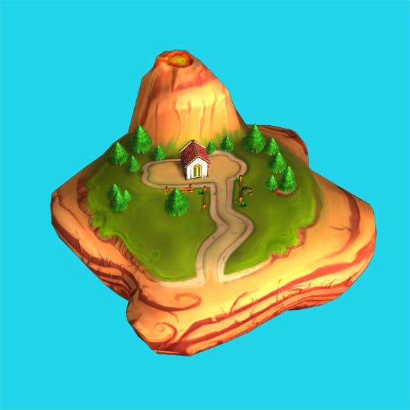 Map Cartoon - 3DOcean Item for Sale