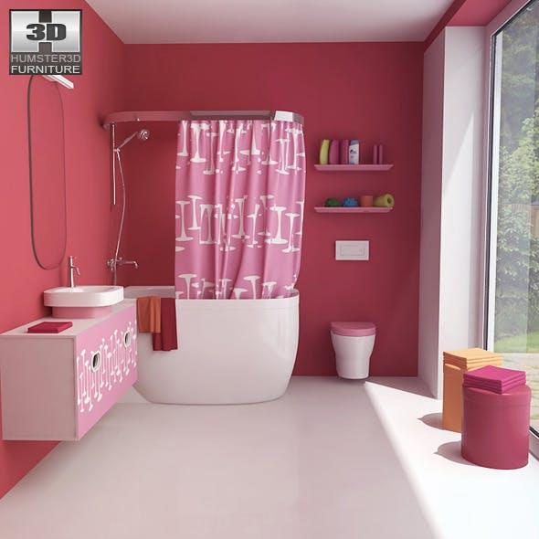 Bathroom 07 Set - 3DOcean Item for Sale
