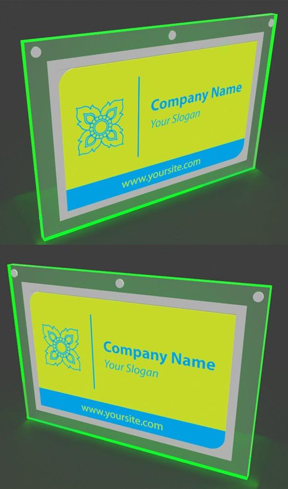 LED Light Box - 3DOcean Item for Sale