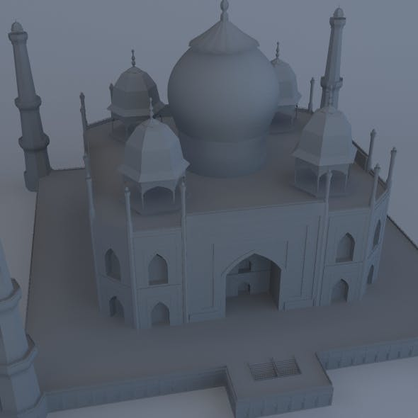 Mosque CG Textures & 3D Models from 3DOcean