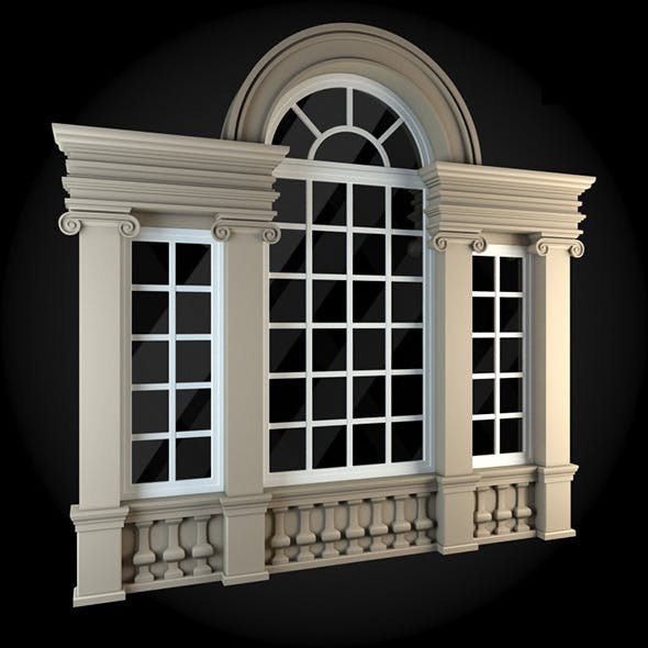 Window 073 - 3DOcean Item for Sale
