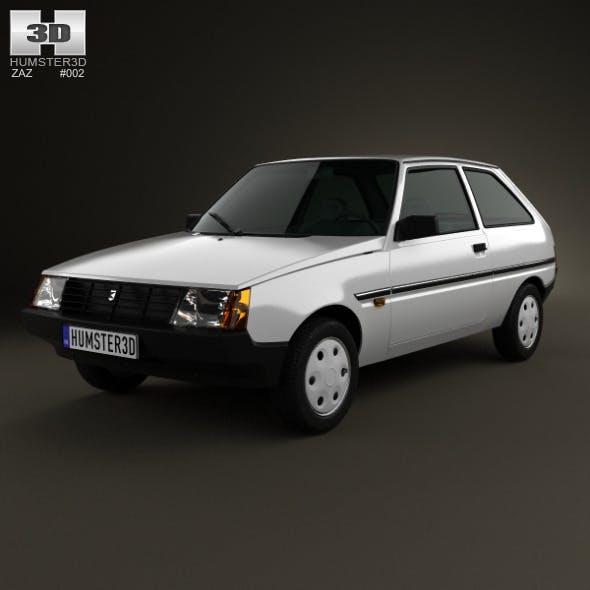 ZAZ Tavria (1102) 1990 - 3DOcean Item for Sale