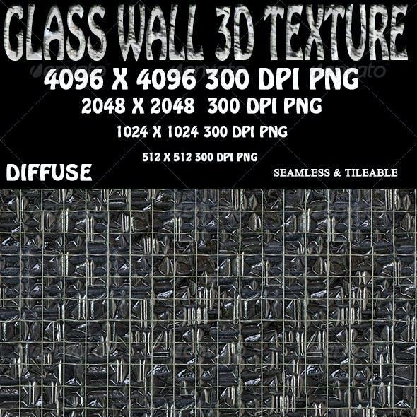 Glass Brick Wall 3