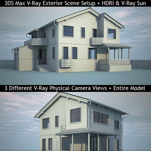 Interior 3D Render Setups from 3DOcean