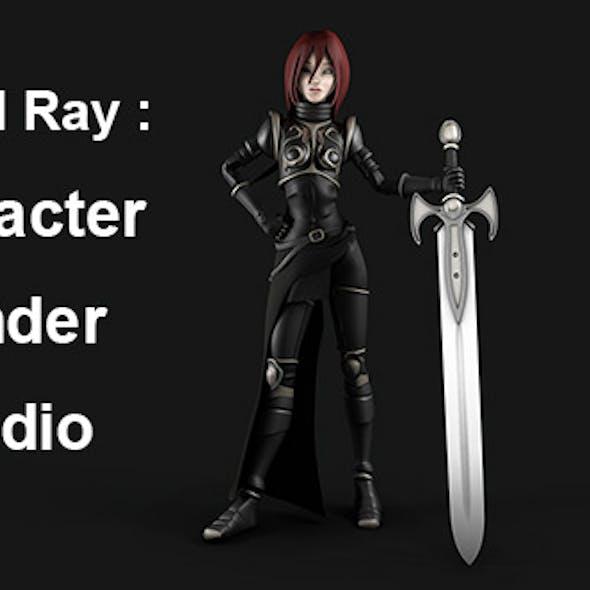 Character Render Studio - Mental Ray