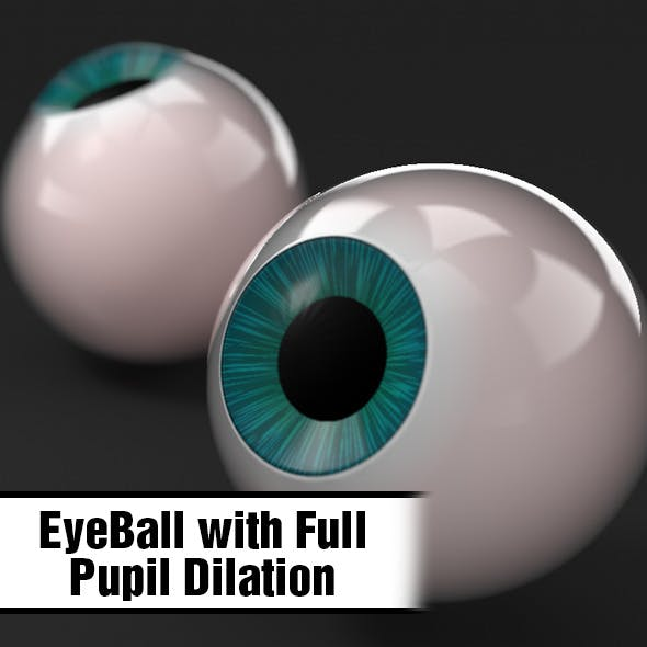 EyeBall w. Pupil Dilation