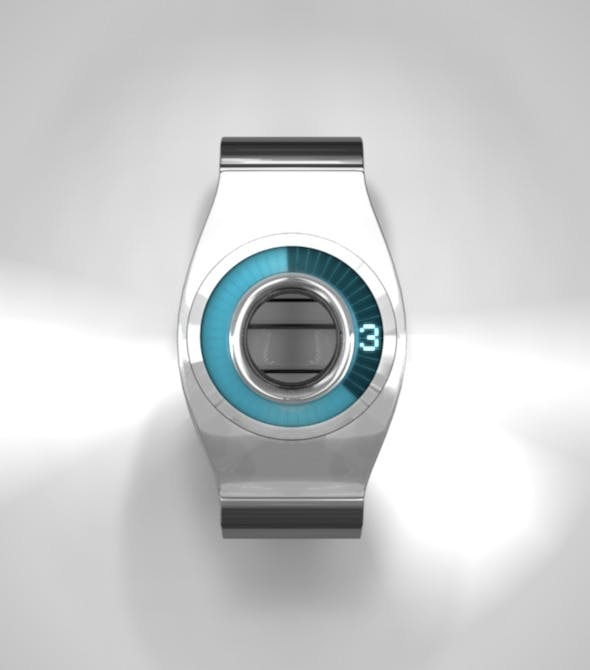 Modern Watch - 3DOcean Item for Sale