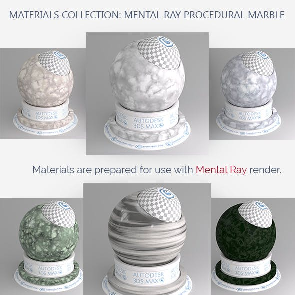 Mental Ray Procedural Marble