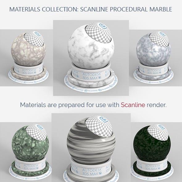 Scanline Procedural Marble