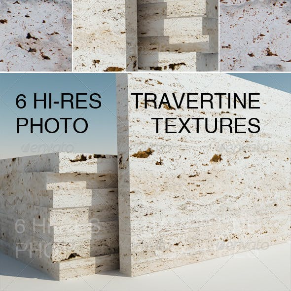 6 Travertine Textures