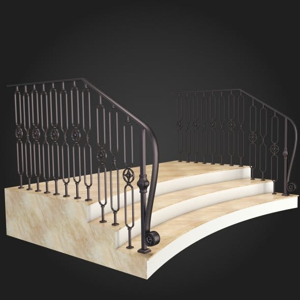 Staircase 019 - 3DOcean Item for Sale