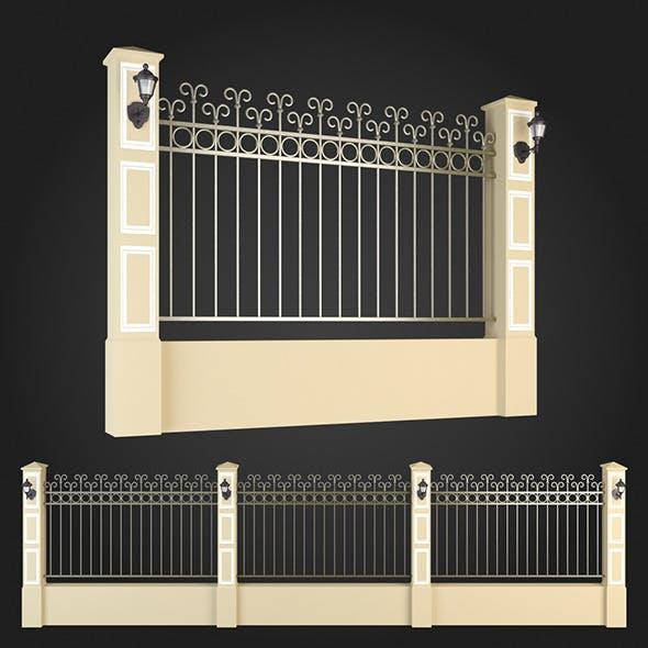 Fence 007 - 3DOcean Item for Sale