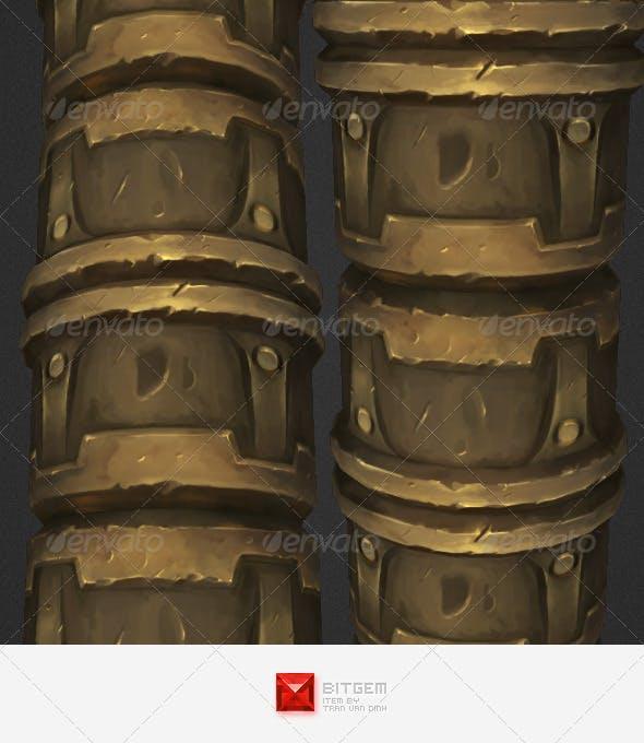 Ornament Texture Tile 03 - 3DOcean Item for Sale
