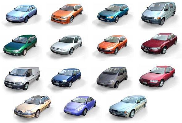Car 3D Models - 3DOcean Item for Sale
