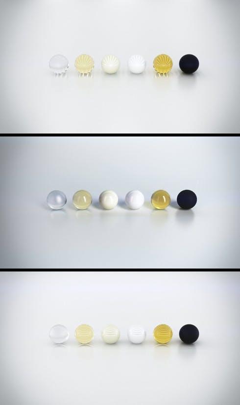 Three Studio Set-ups & Materials - 3DOcean Item for Sale