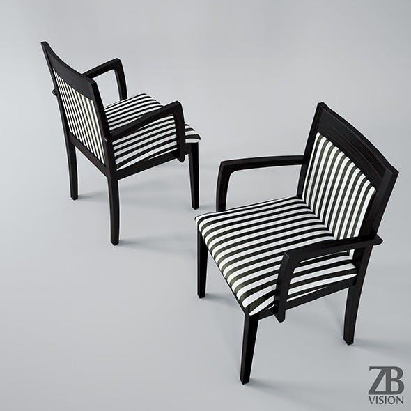 Hutten Nancy Chair - 3DOcean Item for Sale