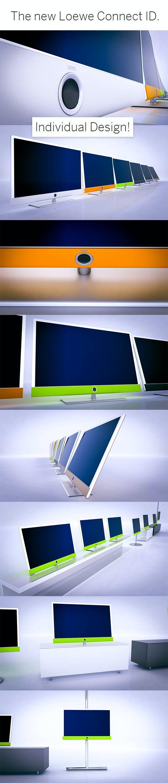 Loewe Concept ID TV - 3DOcean Item for Sale