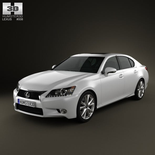 Lexus GS 2012 - 3DOcean Item for Sale