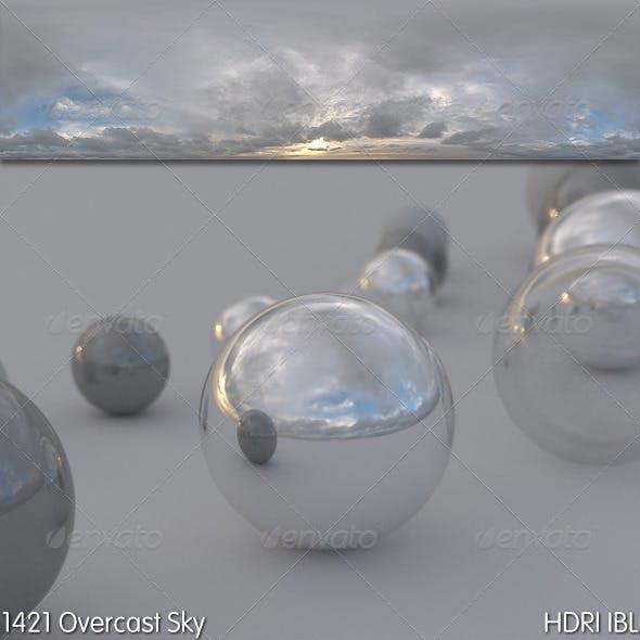 HDRI IBL 1421 Overcast Sky