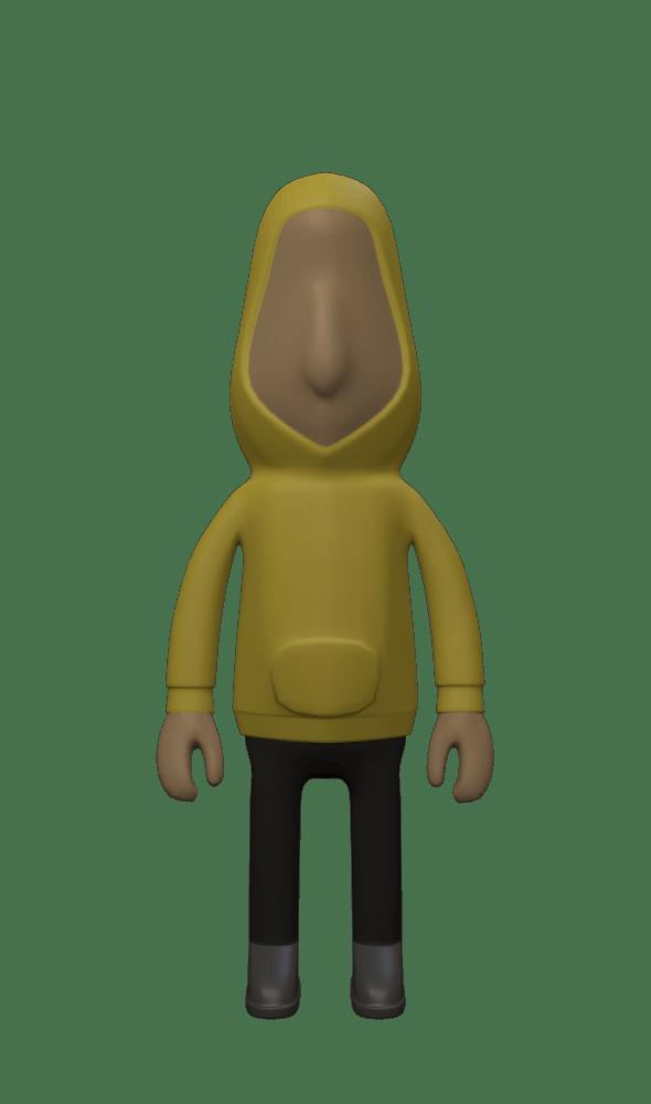 Blender Rigged Man - 3DOcean Item for Sale