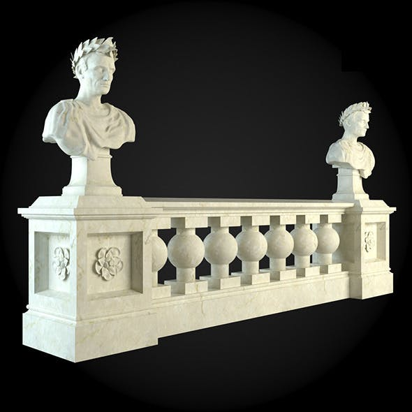 014_Baluster - 3DOcean Item for Sale