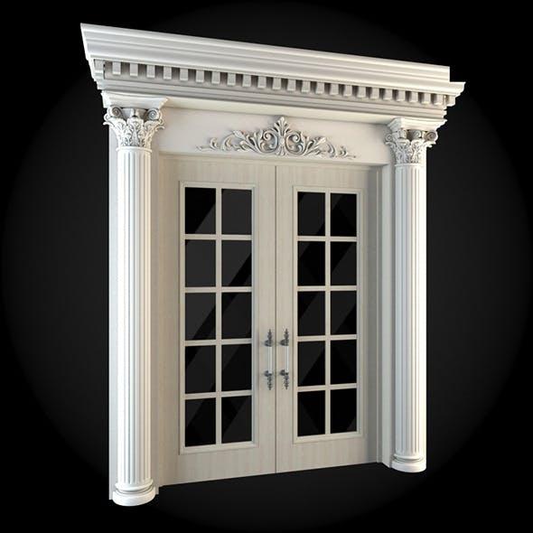 Door 018 - 3DOcean Item for Sale