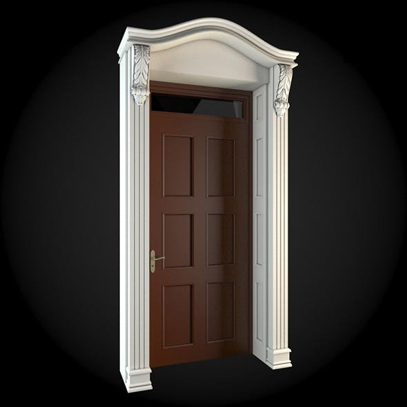 Door 020 - 3DOcean Item for Sale
