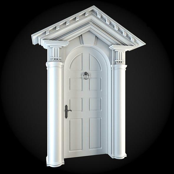 Door 023 - 3DOcean Item for Sale