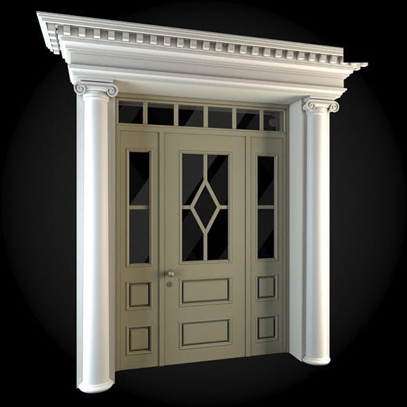 Door  037 - 3DOcean Item for Sale