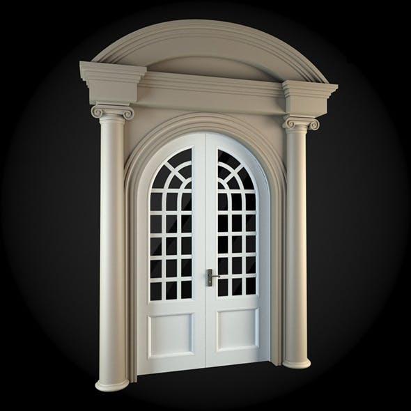 Door 044 - 3DOcean Item for Sale