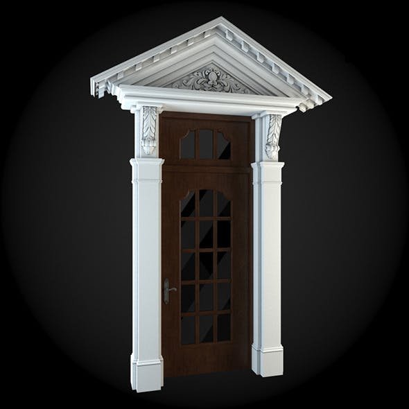 Door 047 - 3DOcean Item for Sale
