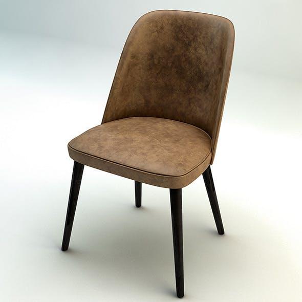 Jacky Vintage Chair - 3DOcean Item for Sale