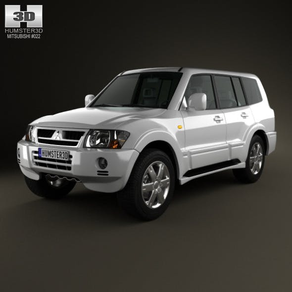 Mitsubishi Pajero (Montero) Wagon 2005 - 3DOcean Item for Sale