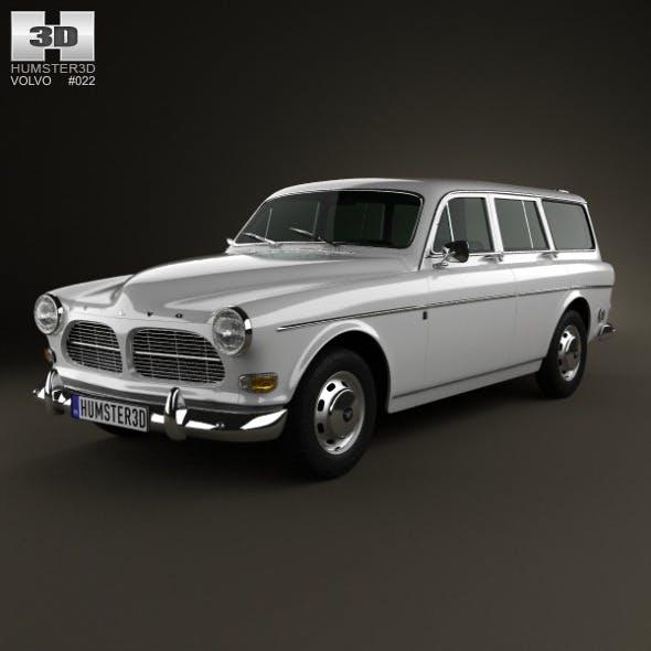 Volvo Amazon wagon 1961 - 3DOcean Item for Sale