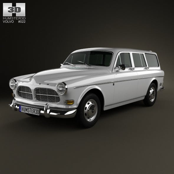 Volvo Amazon wagon 1961