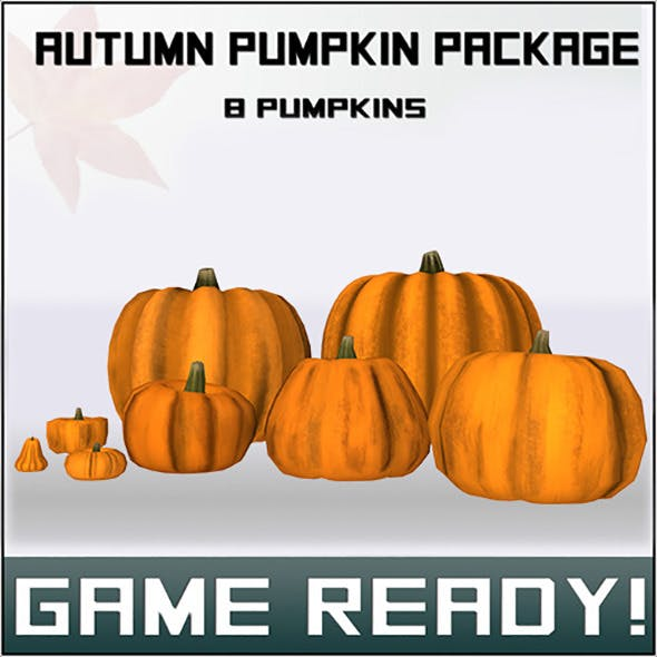 Pumpkin Package - 3DOcean Item for Sale