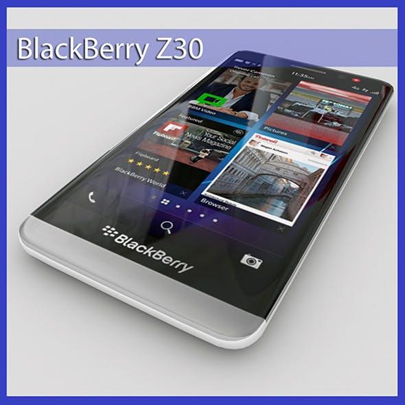 BlackBerry Z30 - 3DOcean Item for Sale