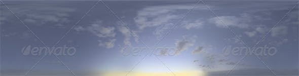 Skydome HDRI - Blue Moment II - 3DOcean Item for Sale