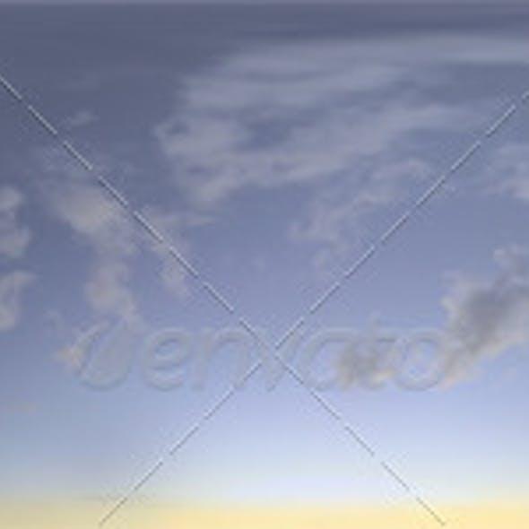 Skydome HDRI - Blue Moment II