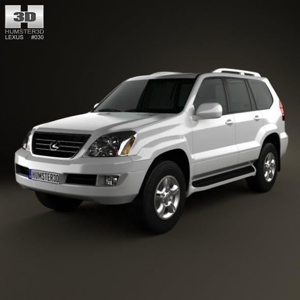 Lexus GX (J120) 2009 - 3DOcean Item for Sale
