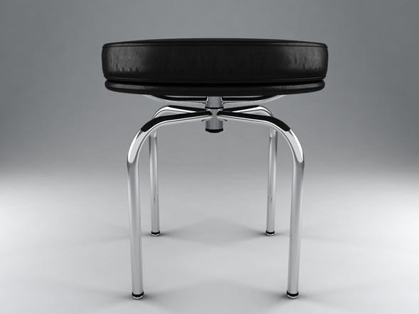 LC8 Swivel Stool by Le Corbusier - 3DOcean Item for Sale