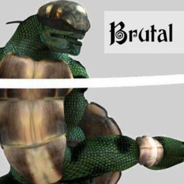Panzer Add-On for Brutal (for Poser)