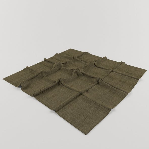 Rug tiles - 3DOcean Item for Sale