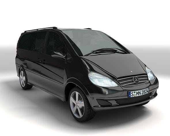 Mercedes-Benz Viano - 3DOcean Item for Sale