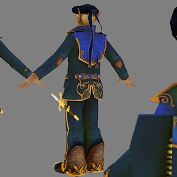 Steampunk Elf Marine